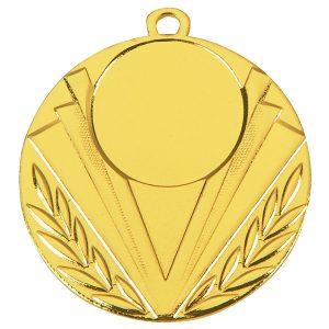 Goedkope medaille met strepen 2 goud