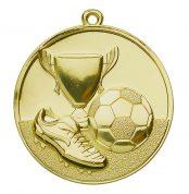 Goedkope voetbal medaille brons goud