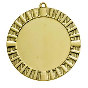 Grote medaille met details goud