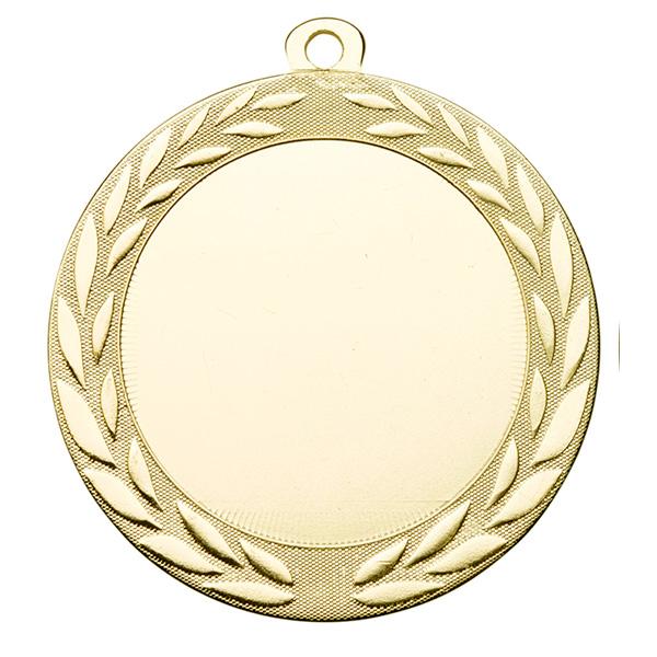 Grote medaille met krans goud