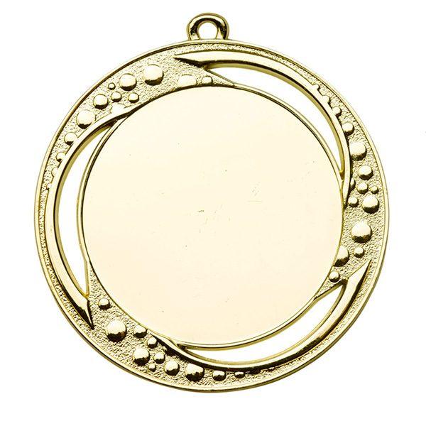 Grote medaille met open ontwerp goud