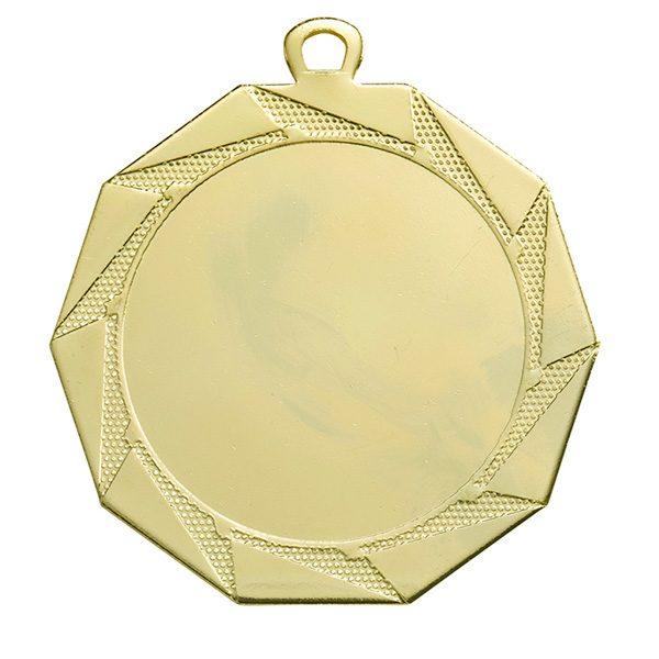Grote medaille met sierlijke patronen goud