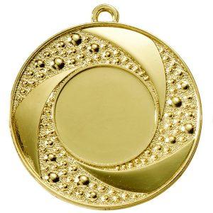 Medaille met rondjes goud