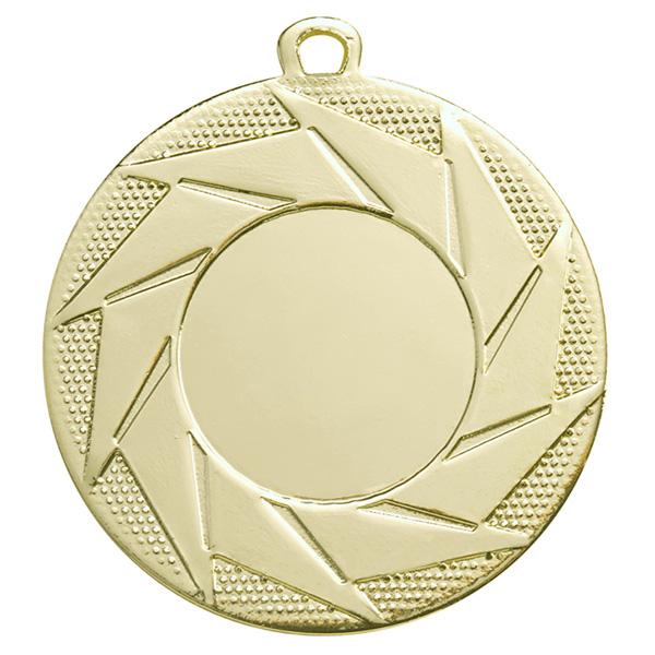 Medaille met sierlijke patronen goud