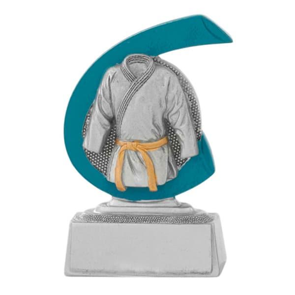 Karate-judo beeldje