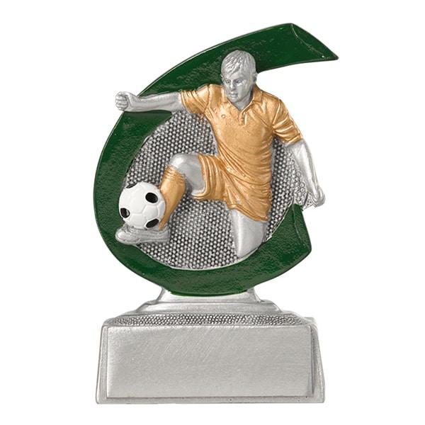 Kleine voetbal beeldje heren