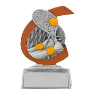 Tennis beeldje met detail