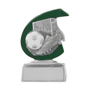 Voetbal beeldje met groene detail