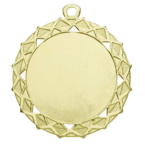 Grote medaille met sierlijke details goud