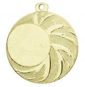 Medaille met strepen rechts goud