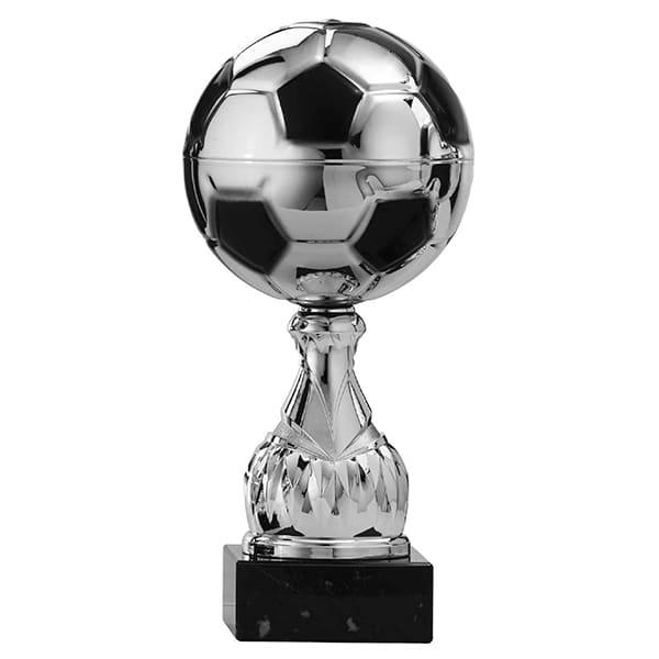 Zilveren voetbalbeker