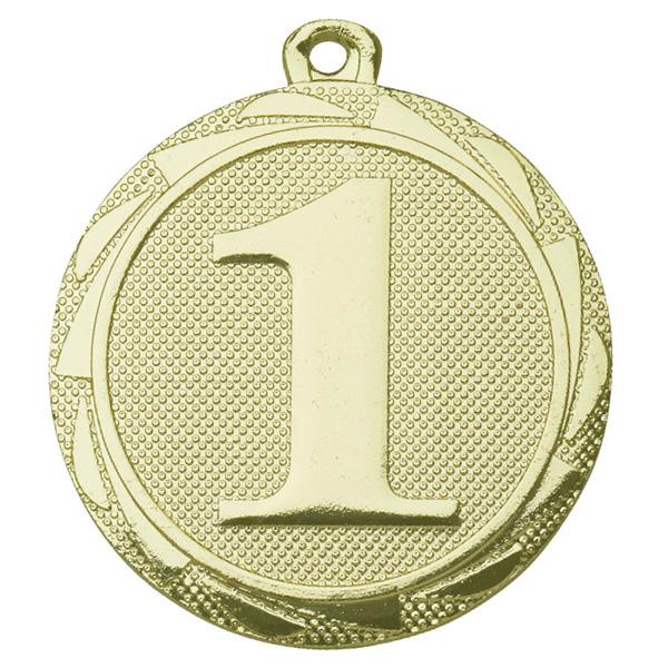 1e plaats medaille goud