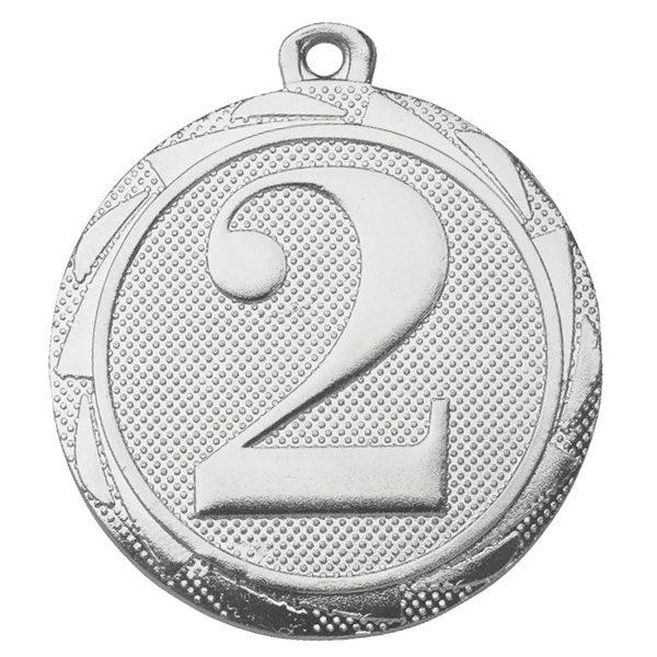 2e plaats medaille zilver