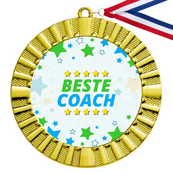 Beste coach gouden medaille