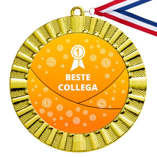Beste collega gouden medaille