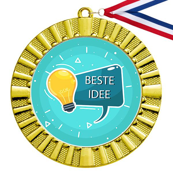 Beste idee gouden medaille