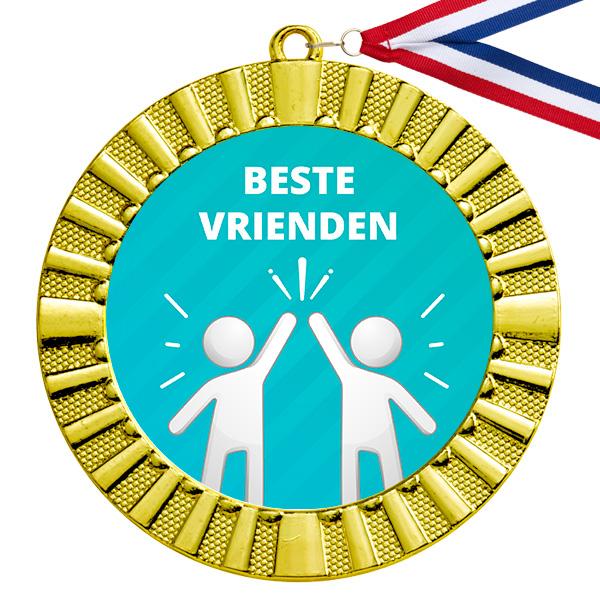 Beste vrienden medaille goud