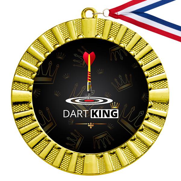Dart King gouden medaille
