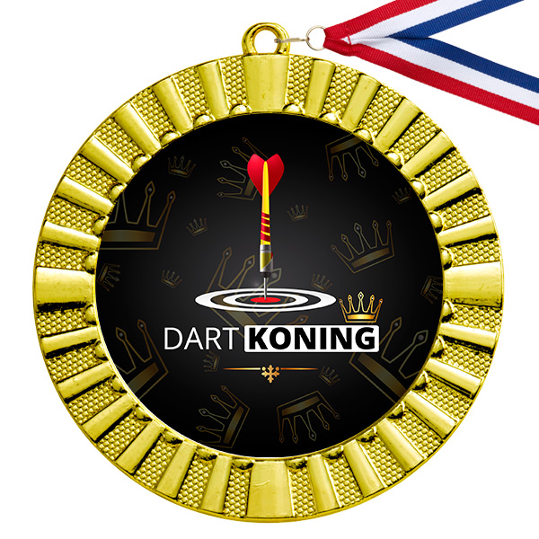 Dart Koning gouden medaille