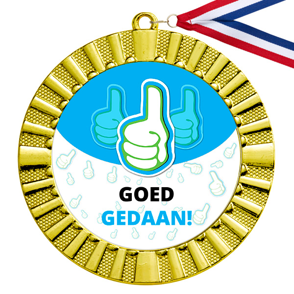 Goed gedaan gouden medaille
