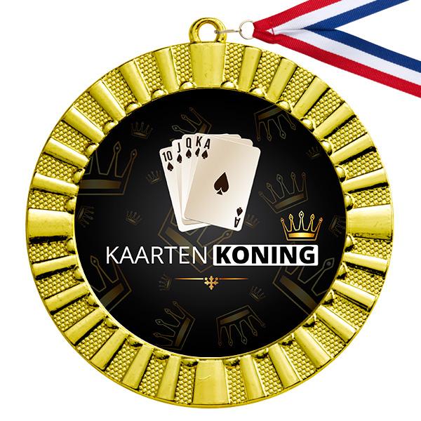 Kaarten Koning gouden medaille