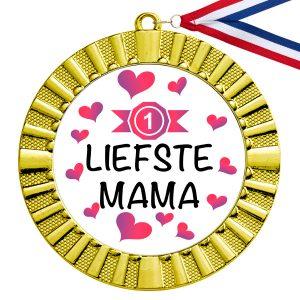 Liefste Mama gouden medaille