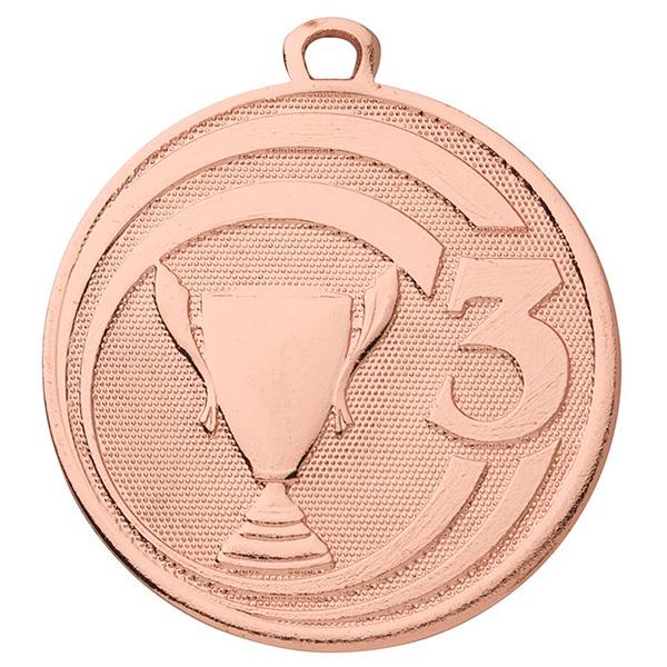 Medaille derde plaats Brons