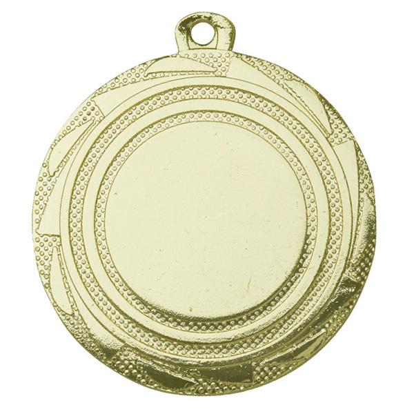Medaille met cirkels goud