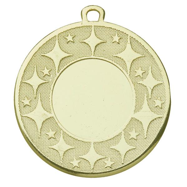 Medaille met sterren goud
