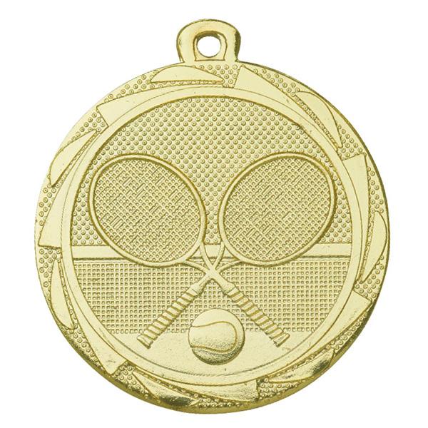 Medaille tennis goud