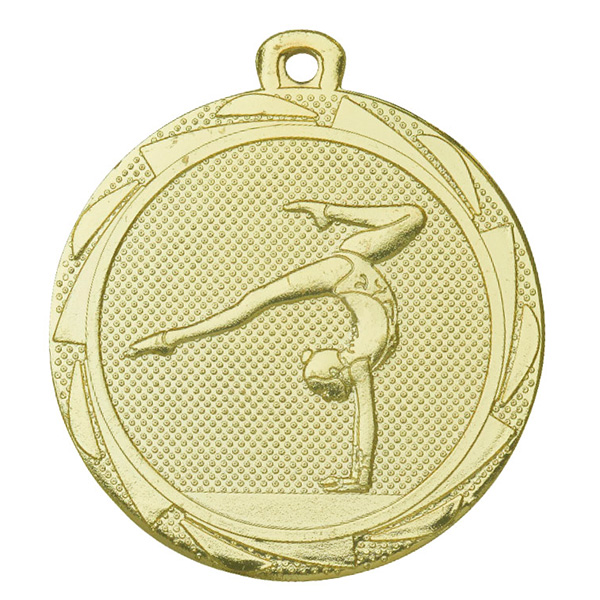 Medaille turnen goud