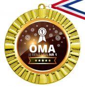 Nummer 1 Oma gouden medaille