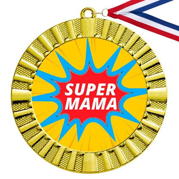 Super Mama gouden medaille