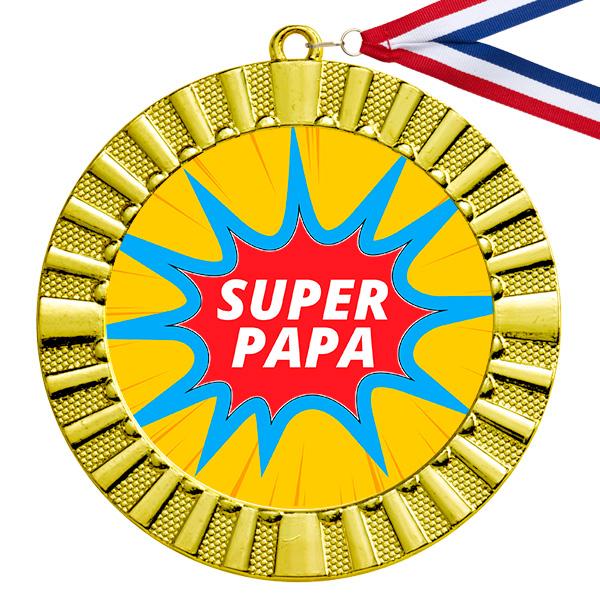 Super Papa gouden medaille
