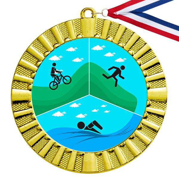 Triathlon gouden medaille