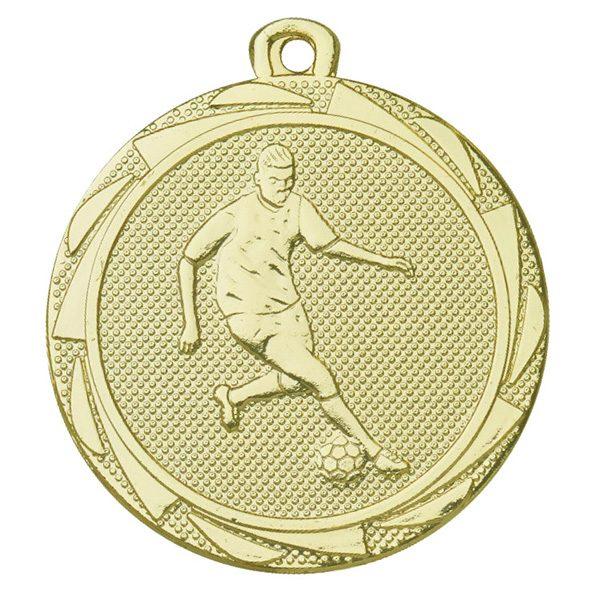 Voetbal medaille heren goud