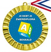Zwemdiploma A medaille goud