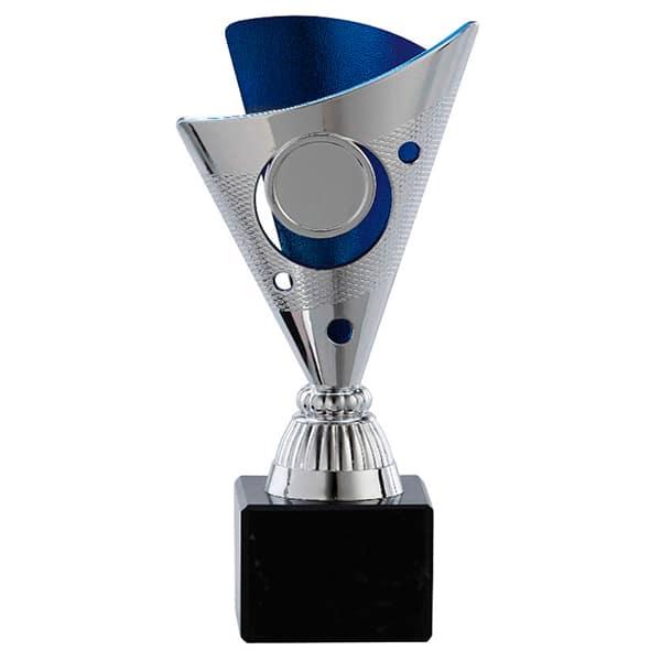 Kleine trofee met blauwe detail
