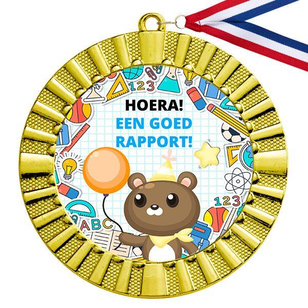 Goed rapport gouden medaille